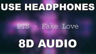 BTS (방탄소년단) 'FAKE LOVE' Official MV [8D AUDIO] 🎧 Resimi