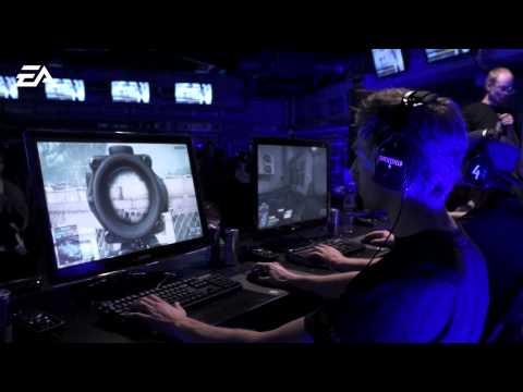 Battlefield 4: Midnight Launch at Webhallen in Stockholm