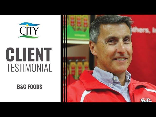 Client Testimonial - B&G Foods