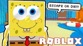 ESCAPE DIE KRUSTY KRAB | Roblox Obby