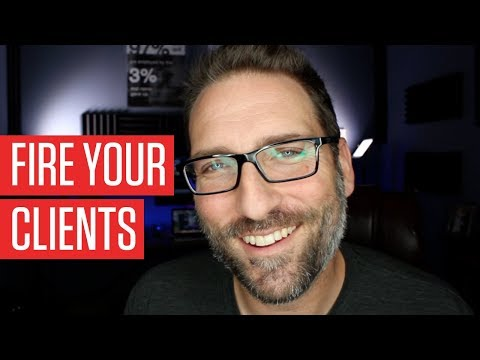 IT'S TIME TO FIRE THE CLIENTS THAT ARE HOLDING YOUR AGENCY BACK! | FINDING THE RIGHT CLIENT