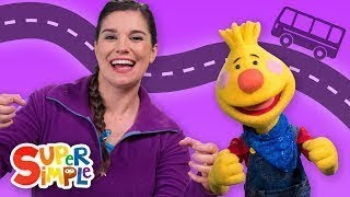 The Wheels On The Bus | Sing Along With Tobee | Kids Songs