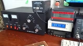 видео Усилитель мощности на ГУ-74Б.
