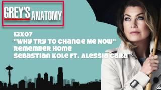 "Gambar cover Grey's Anatomy Soundtrack - ""Remember Home"" by Sebastian Kole Ft. Alessia Cara (13x07)"