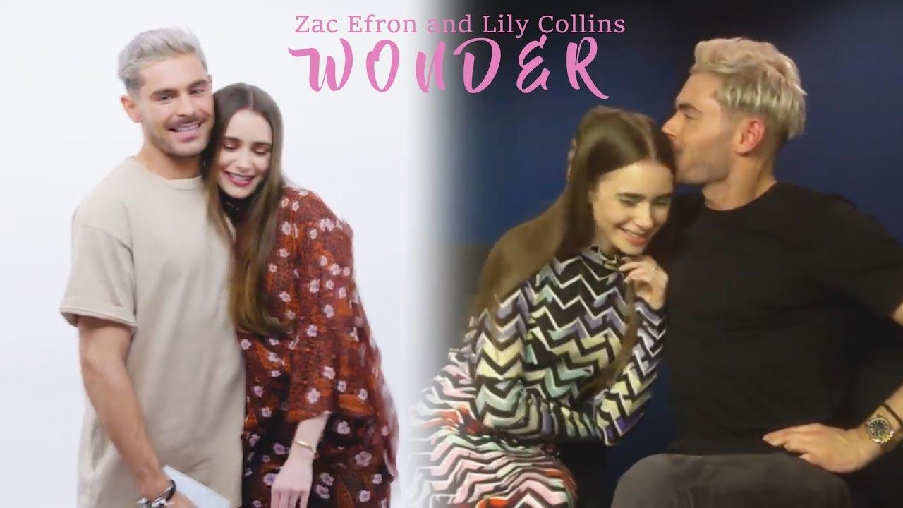 Lily collins efron movie zac Zac Efron's