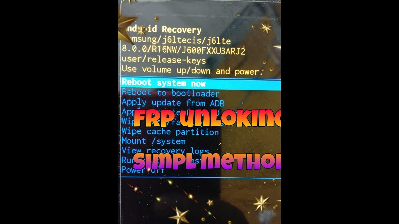 samsung j600f \frp\ flashing \8 0 \binary u3