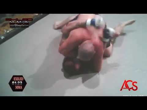 ACSLIVE.TV Present's Exiled MMA Dillon Rowe VS Kory Pena