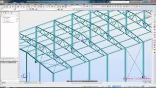 003 Подготовка расчетной схемы в Autodesk Robot Structural Analysis. Шарниры