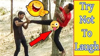 TRY NOT TO LAUGH CHALLENGE 😂 Comedy Videos 2019 | Funny Vines | Pagla Baba Fun