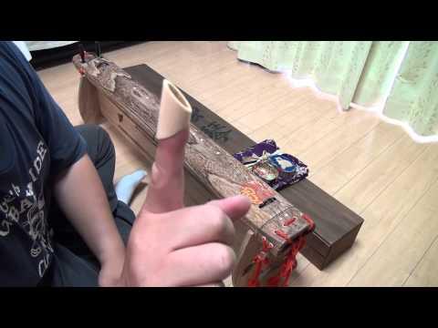 Yakumogoto - Rare Japanese Music Instrument Demo by tkviper - www.wkode.com