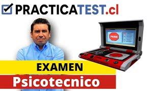 Examen Psicotecnico WWW.PRACTICATEST.CL  Licencia de conducir Chile 2019