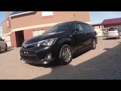 Toyota Corolla Fielder WXB Hybrid - обзор