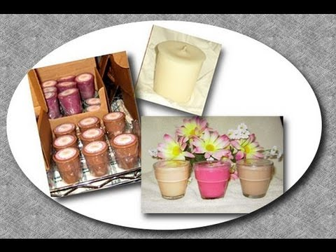 Soy Candle Making At Home