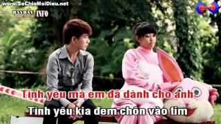 [Karaoke] Đứng Sau Một Nụ Cười - Lương Minh Trang