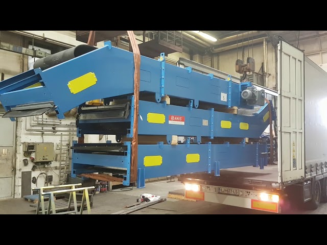 Transport of ANIS balers & conveyors