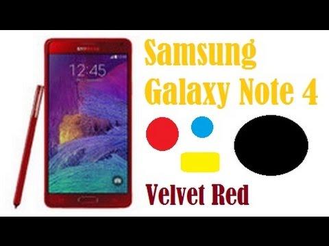 Samsung Galaxy Note 4 Velvet Red Harga Spesifikasi Review