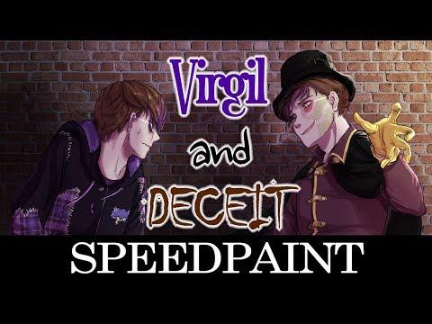 SANDERS SIDES SPEEDPAINT - Virgil and Deceit