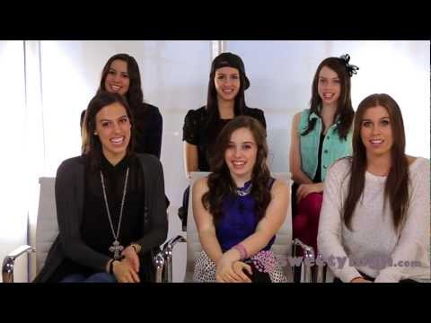 """Cimorelli visits Sweetyhigh.com for the """"Best Interview Ever"""""""