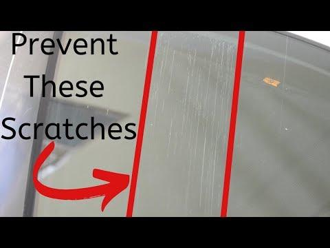 Scratch On Car Window - Prevent Future Scratches