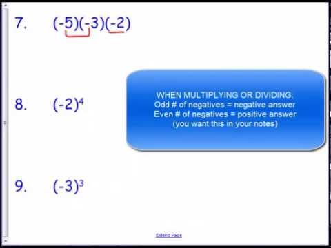 Common Worksheets Multiplication Of Integers Worksheets Pdf – Multiplying Integers Horizontal Worksheet