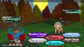 Evoluindo meu Honedge em ROBLOX Pokemon Brick bronze