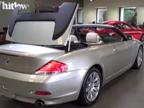 2007 Bmw 6 Series Convertible At Lexus Of Richmond