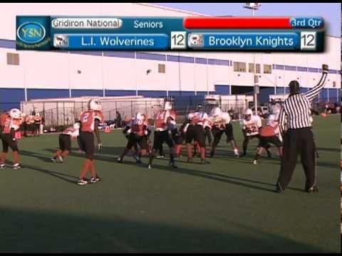 44L I  Wolverines vs Brooklyn Knights Seniors Div  Gridiron National Football League 2010