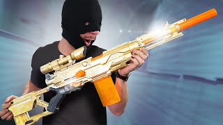 NERF Cops & Robbers Challenge!