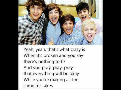 Same Mistakes - One Direction (with lyrics on screen)