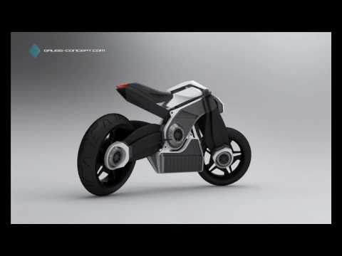 Gauss - Concept by Attila Kiss(electrical Motorcycle) Soundrack 02 -  Into The West - Miles Ahead