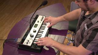 Korg microKORG XL Synthesizer Vocoder Demo | FullCompass