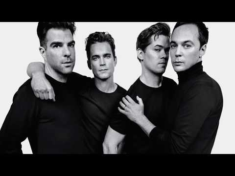 The Boys in the Band  Starring Jim Parsons, Zachary Quinto, Matt Bomer and Andrew Rannells