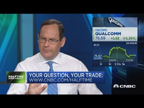 What's the deal with Qualcomm? Is IBM a buy ahead of earnings? And: the trades on Square and Micron