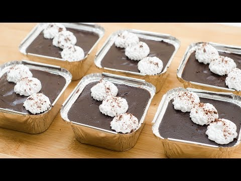 10 MIN. DESSERT IN FOIL CUP l EGGLESS & WITHOUT OVEN