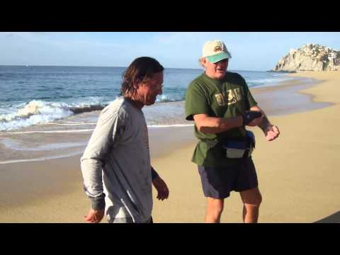 55 lbs Rooster Fish Caught in Cabo Shore Fishing, Casting