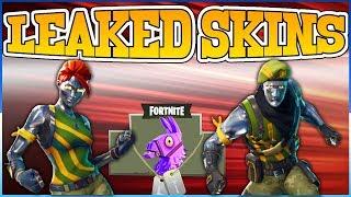 Fortnite Battle Royale Season 4 *Leaked Skins* New Season 4 Skins