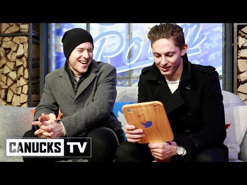 Brock Boeser and Troy Stecher Visit Twitter Headquarters