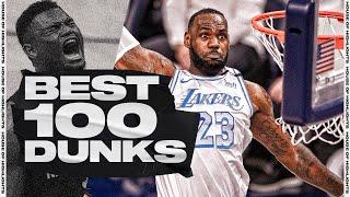🔥 NBA's BEST 100 DUNKS & POSTERS of 2020-21 Regular Season