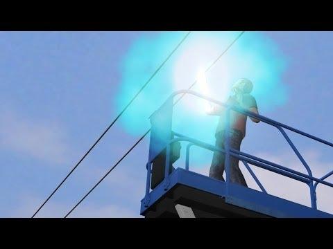Worker on Scissor Lift Electrocuted