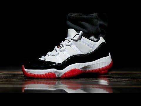 Air Jordan Low White Black Red (Concord