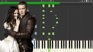 """""""Powerful Magic"""" -  Once Upon A Time [Piano Tutorial] (Synthesia)"""