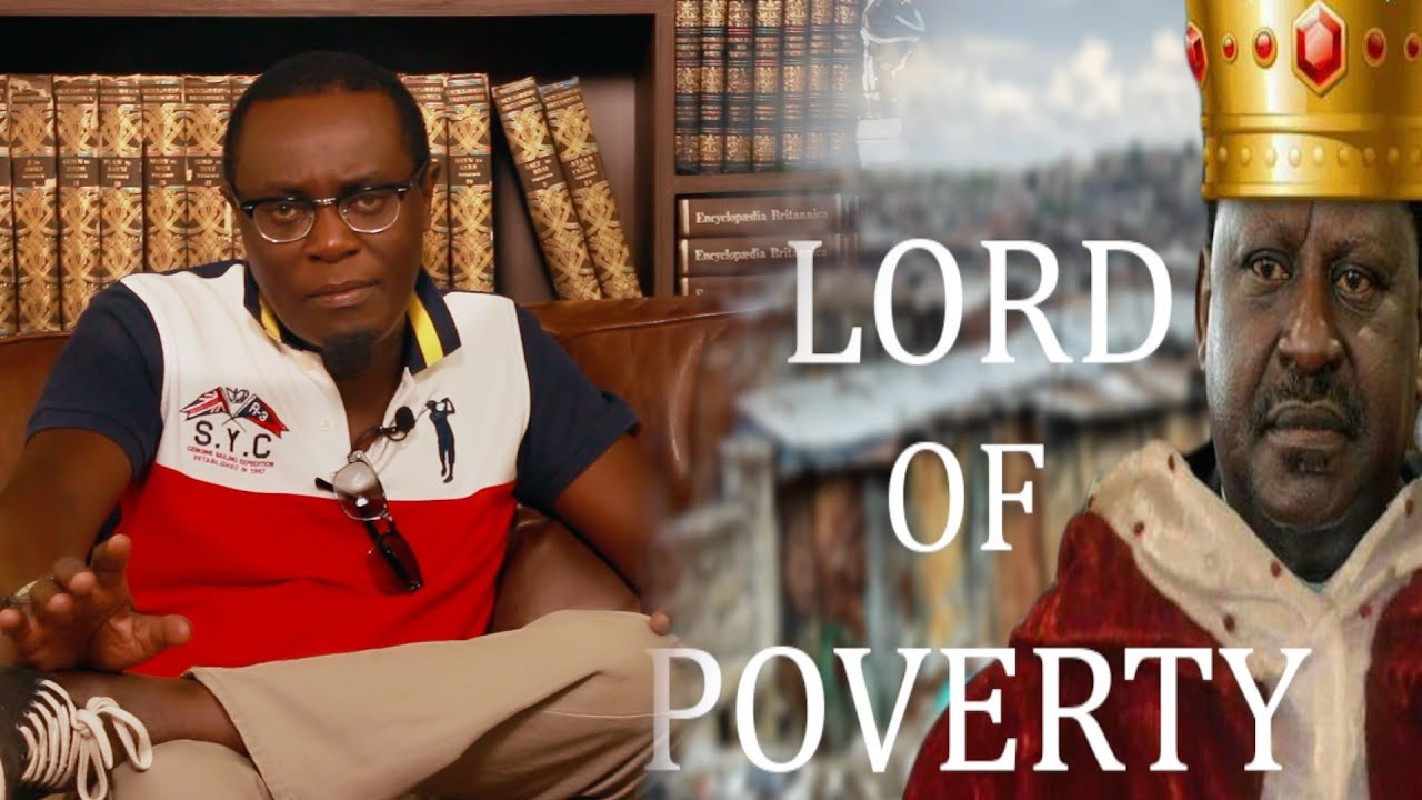 Image result for Lord of Poverty: Unmasking the Raila 2017 Magic