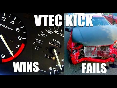Vtec Kick Compilation (Wins And Fails)