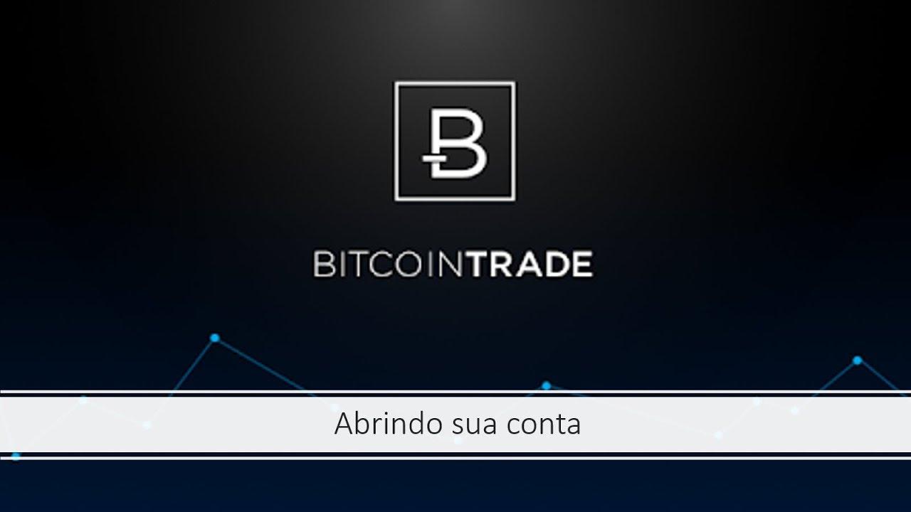 criar conta bitcointrade