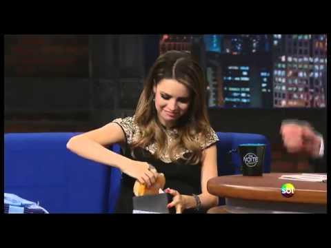 Chá de bebê da cantora Sandy no programa de televisão