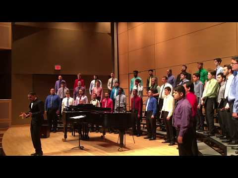 Texas State University Men's Choir, Spring 2017 concert