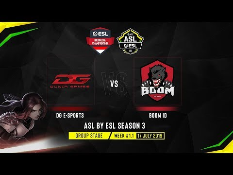 ASL By ESL Season 3 - ESL Indonesia Championship - Matchday #1