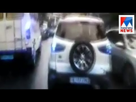 Action against car driver who block ambulance at Perumbavoor | Manorama News