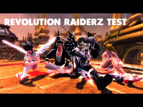 RaiderZ: RevolutionZ – Test Part 1