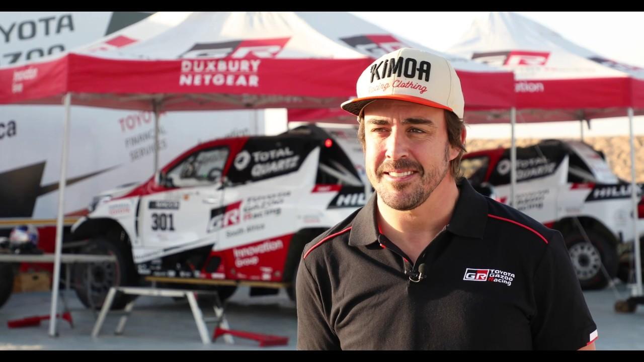 Fernando Alonso All But Confirms 2020 Dakar Rally Entry With